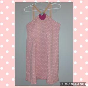 Gymboree Candy Apple Polka Dot Ribbon Strap Dress